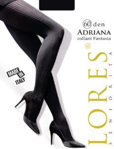 ADRIANA – rajstopy z prążkami – 60 den