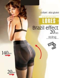 BRAZIL EFFECT – rajstopy podnoszące pośladki – 20 den