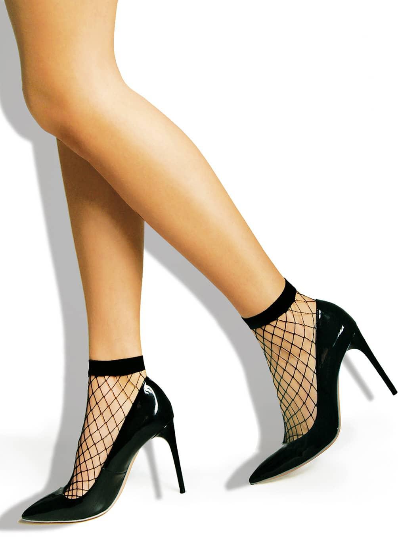 skarpetki kabaretki do butów na obcasie