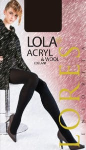 LOLA – rajstopy z wełną – 100 den