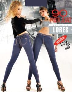 PANTA JEANS – spodnie legginsy – 90 den