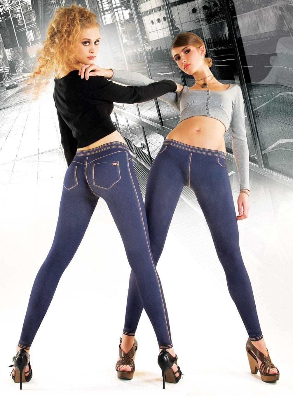 spodnie legginsy jak jeansy