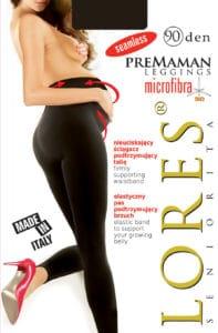 PREMAMAN – legginsy ciążowe – 90 den