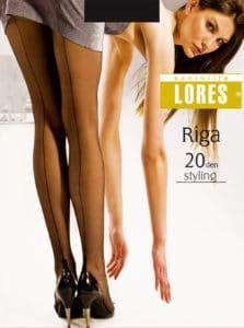 RIGA – rajstopy ze szwem – 20 den