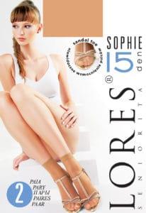 SOPHIE 15 den - cienkie skarpetki damskie
