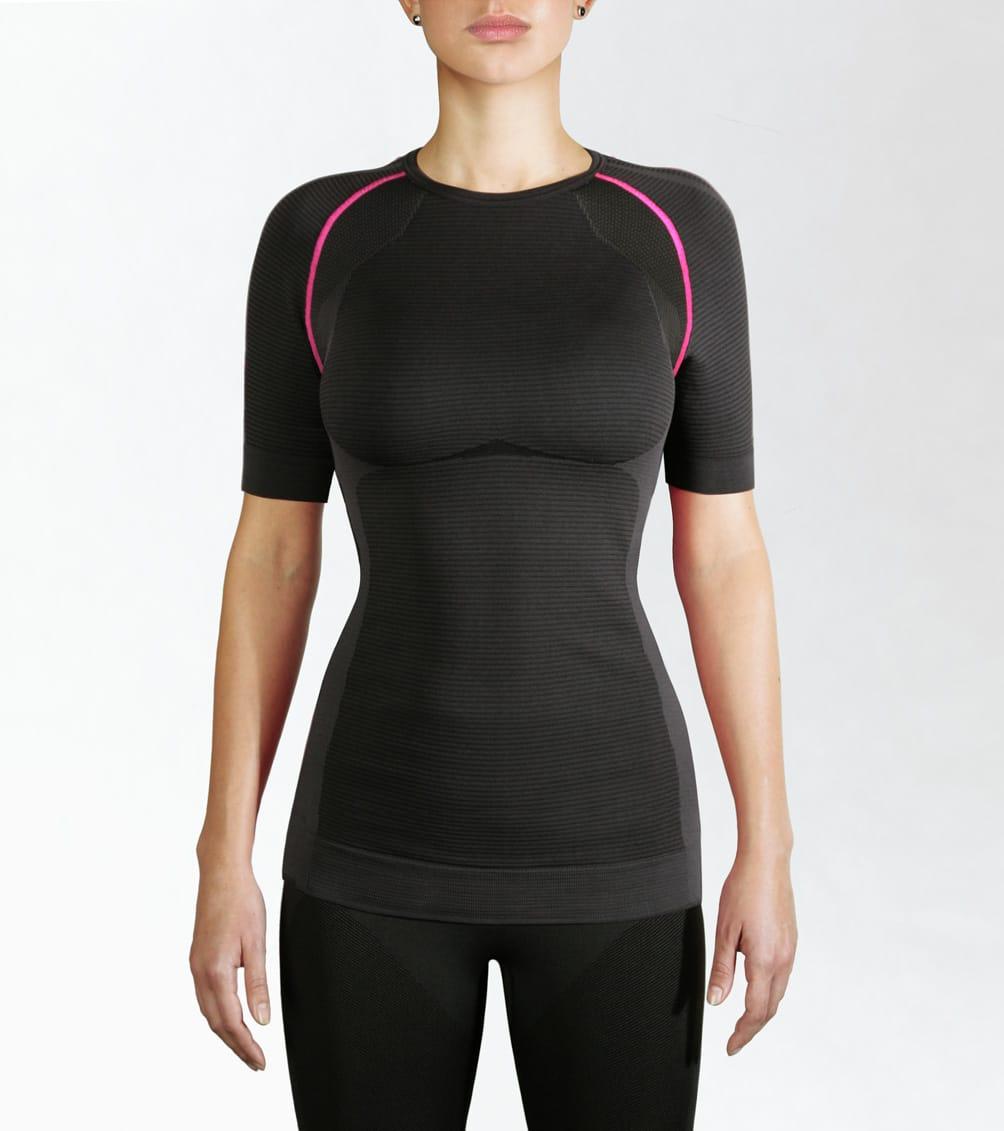 koszulka sportowa damska z krótkim rękawem, termoaktywna