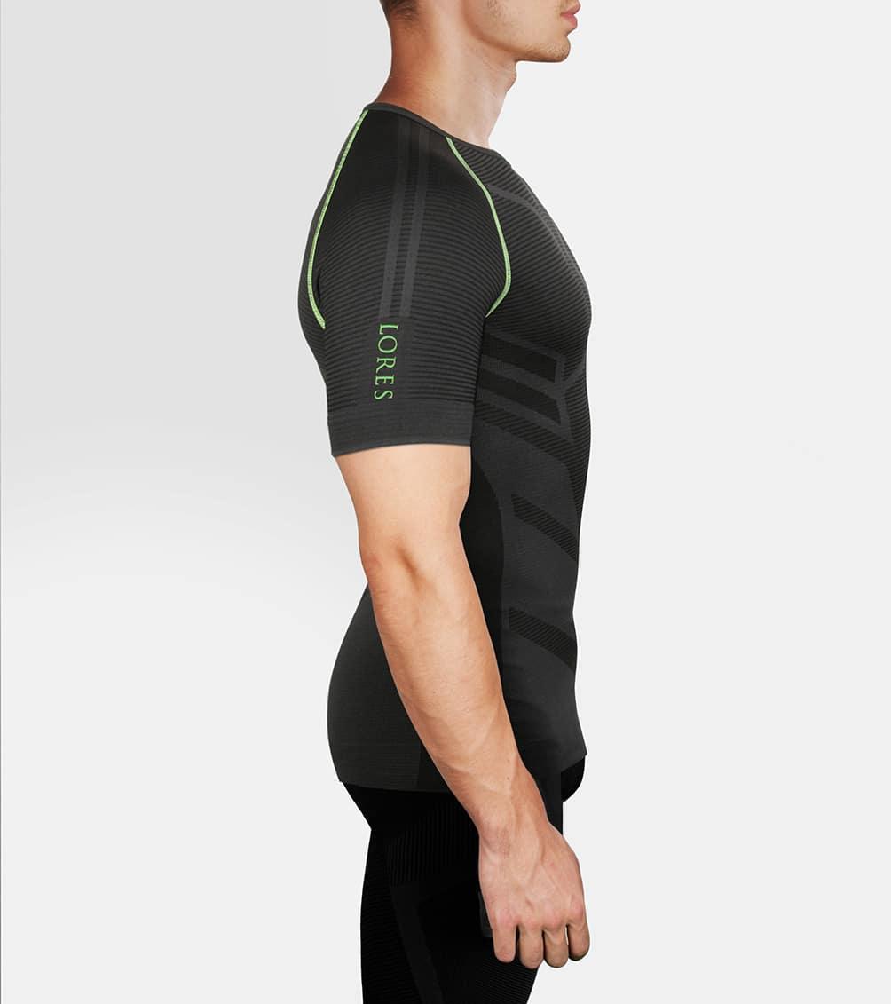 Koszulka sportowa męska z krótkim rękawem