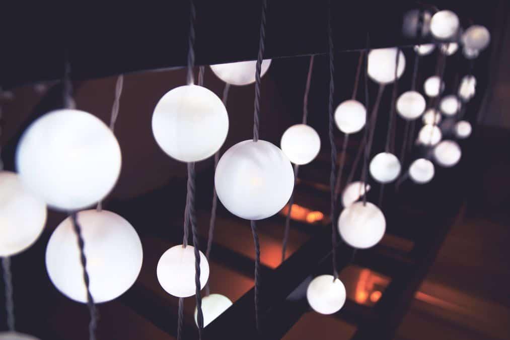 lampki kule, światełka do pokoju