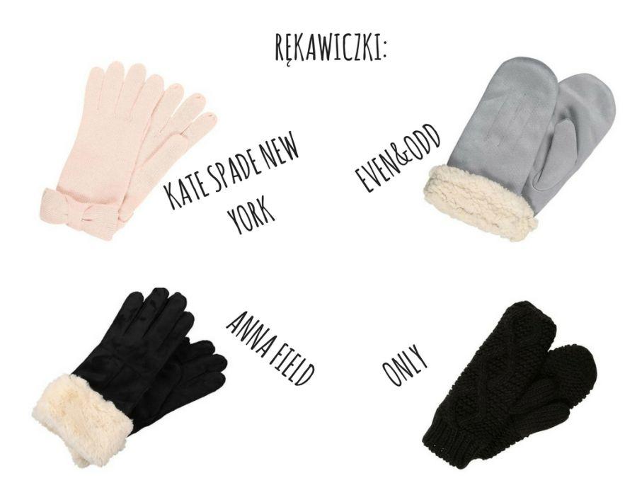 damskie rękawiczki na zimę
