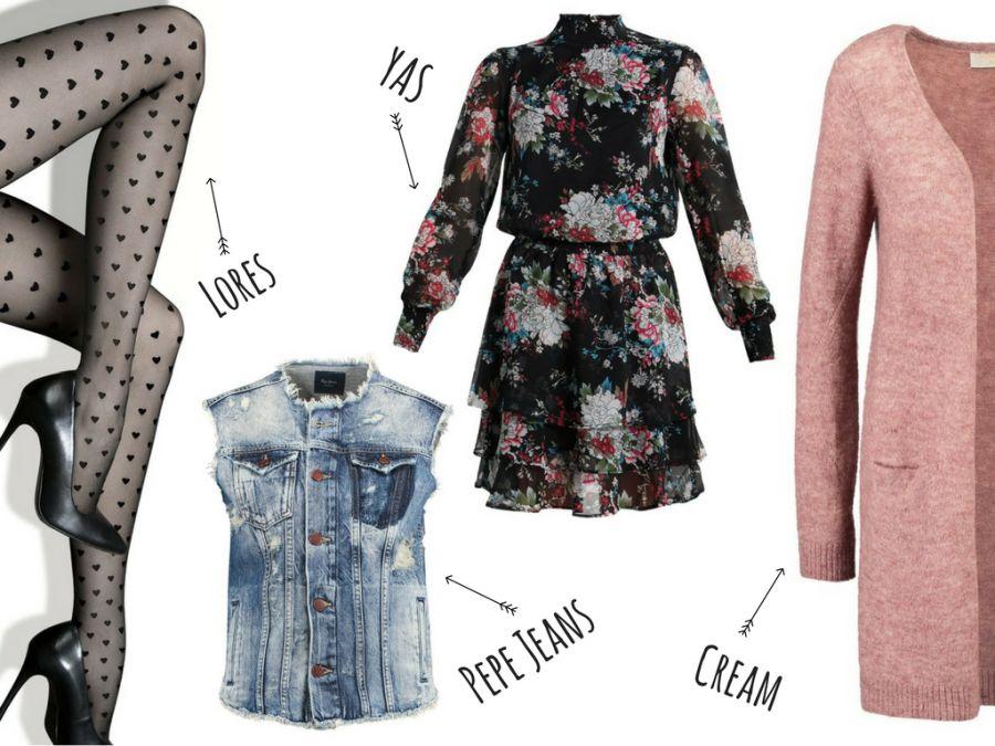 rajstopy w serduszka Lores - modny dodatek na wiosnę i lato