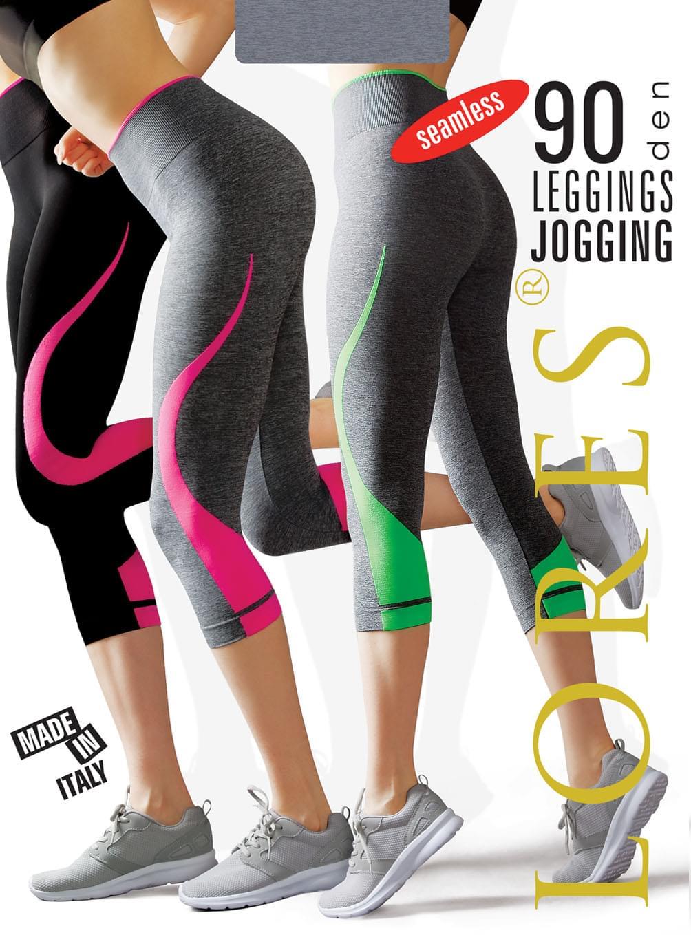 JOGGING - legginsy do biegania - 90 den