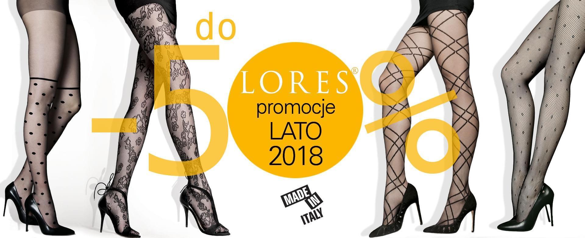 Lores rajstopy - promocje na lato - desktop