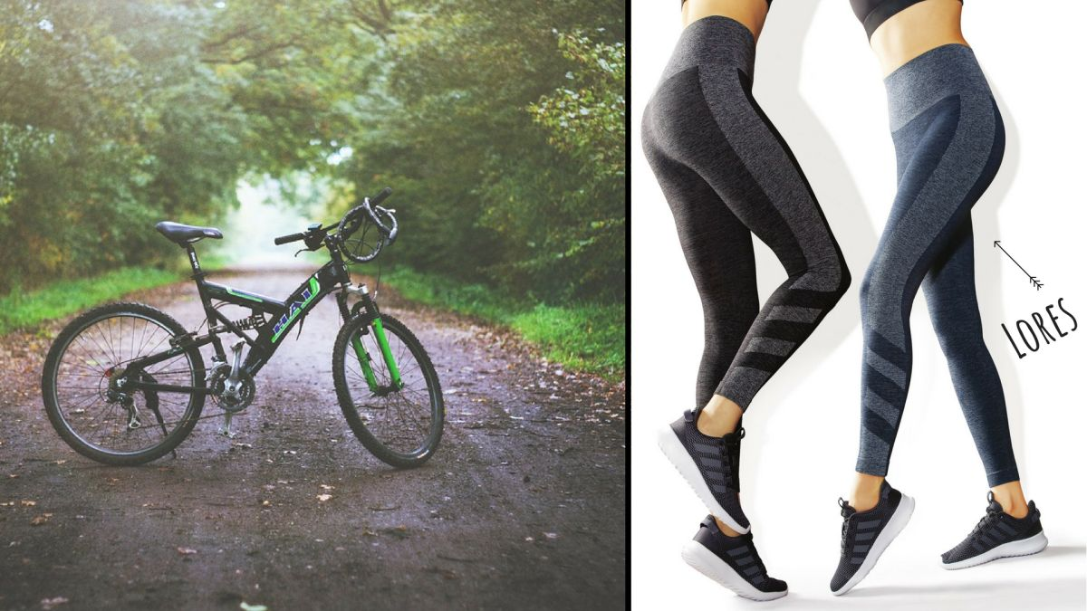 legginsy na rower
