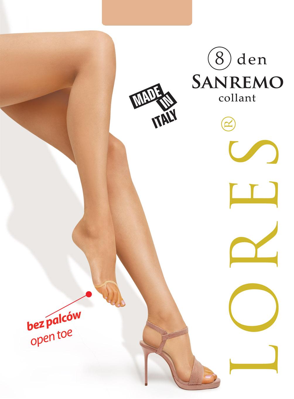 rajstopy bez palców - Lores
