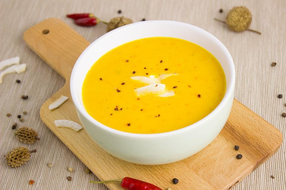 zupa dyniowa - comfort food