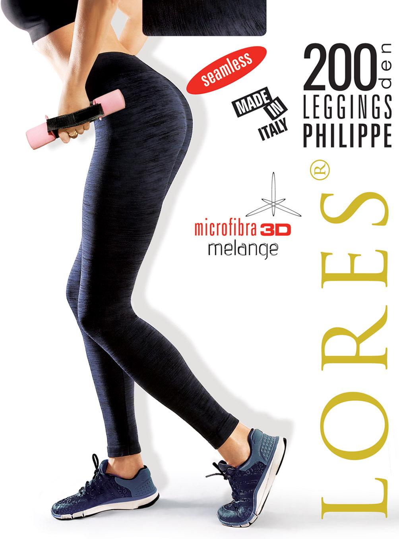 PHILIPPE – kryjące legginsy sportowe – 200 den