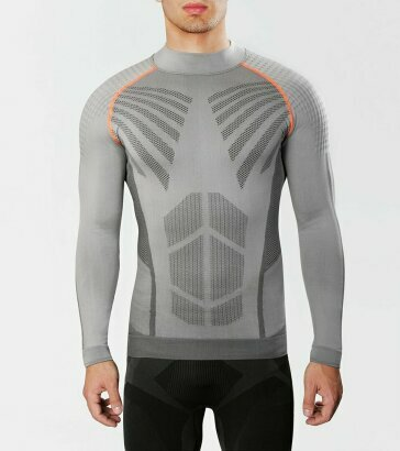 Koszulka sportowa męska z długim rękawem